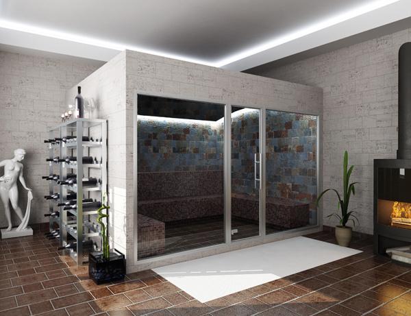 Centro benessere royalpool piscine su misura materiali - Centro benessere a casa ...