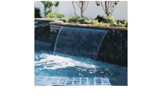 Cascate polaris giochi ed ornamenti acquatici royalpool - Cascate per piscine ...